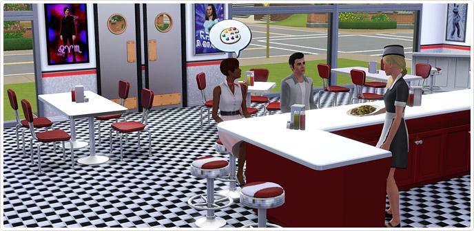 diner bloopers vintage