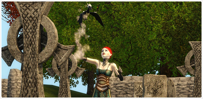 Download Black Armored Dragon Sims 3