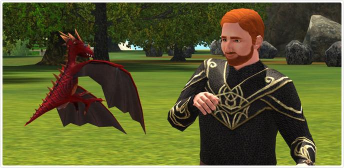 скачать the sims 3 store дракон дрэгон валли