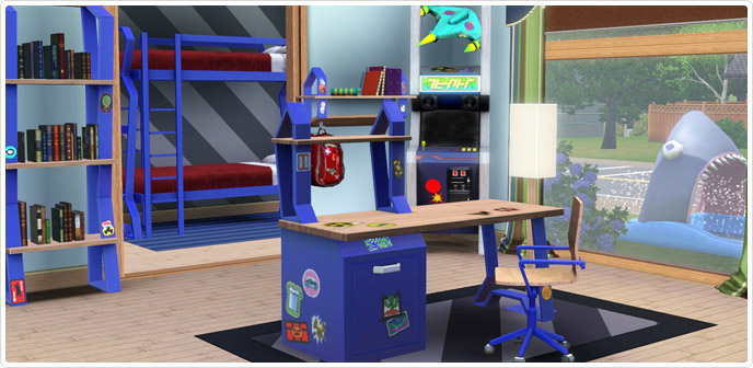 back 2 skool store the sims 3. Black Bedroom Furniture Sets. Home Design Ideas