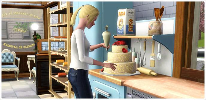 Store padaria deliciosamente indulgente deliciously for Simsoucis
