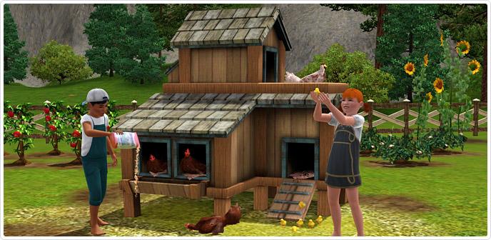 chicken coop game free