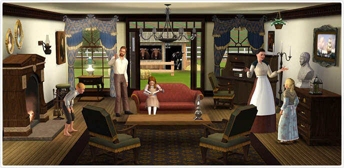The Sims 3 Store - all available packs for the Sims 3.