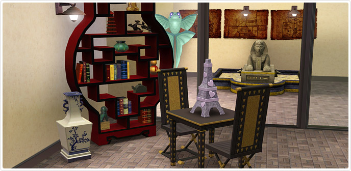 free sims 3 store content list