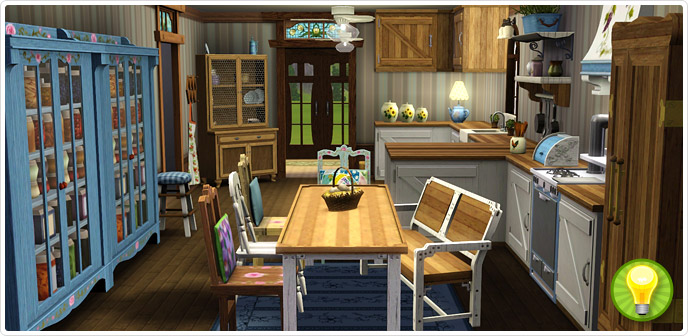 Charmingly Simple Kitchen Collection - Store - The Sims™ 3