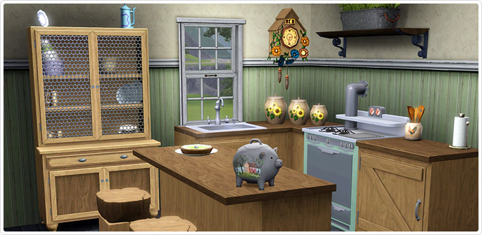 Frontier finds kitchen and dining store the sims 3