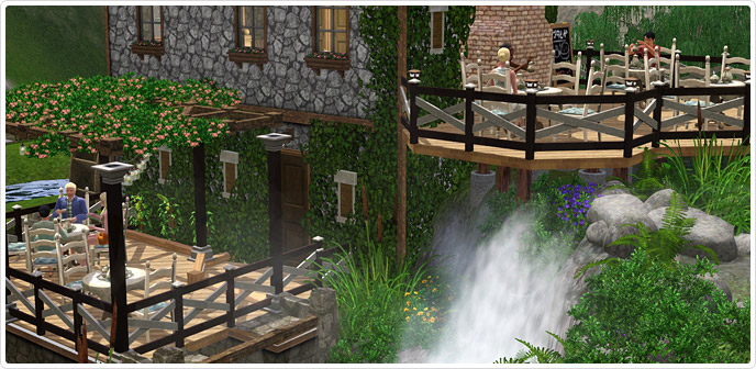 Download the sims 3 brunch at the old mill torrent for Sims 3 store torrent