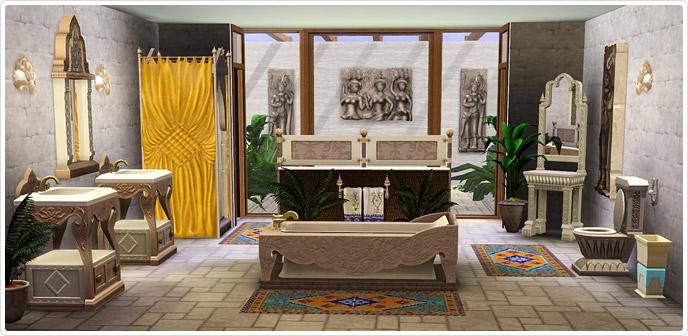 S rie salle de bains royaume du cambodge store les sims 3 for Salle de bain sims 4