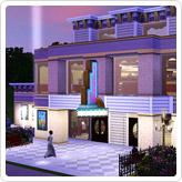 Cinéma Plumbob - Objets du store gratuits