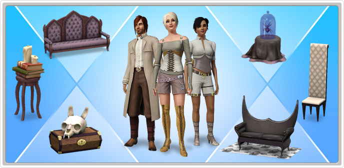 how to get sims 3 store content