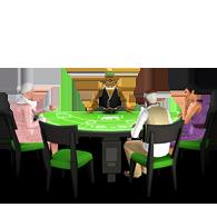 """Покерный стол """"Рука мертвеца"""""""