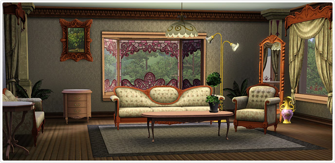 Storybook living room set store the sims 3 for Living room ideas sims 3