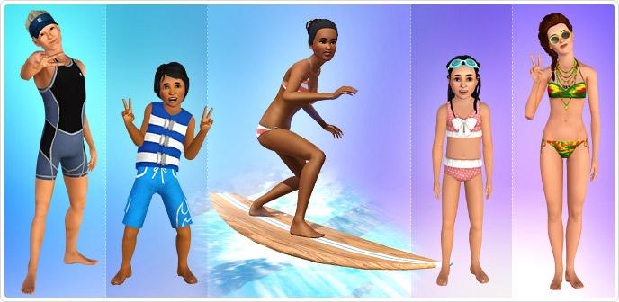 Colección Surf, sol y diversión