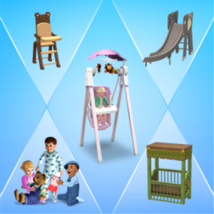 how to make baby into toddler sims freeplay