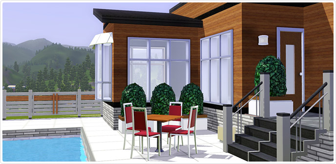 Ultra lounge outdoor set store the sims 3