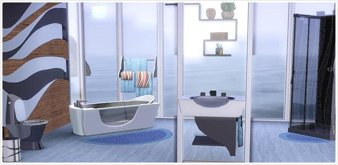 Salle de bains ultra design store les sims 3 for Salle de bain sims 4