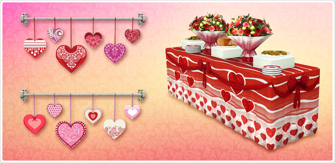 set San Valentín 14