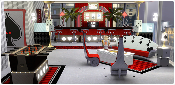 Viva Las Vegas Living Store The Sims 3