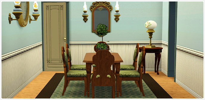 Dining room set for 8