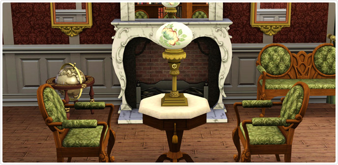 Regal Living Living Room Set - Store - The Sims™ 3
