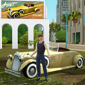 sims 3 classically cool fixer-upper car