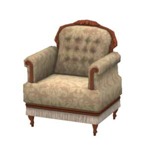 Romantique overstuffed armchair store the sims 3 for Overstuffed armchair