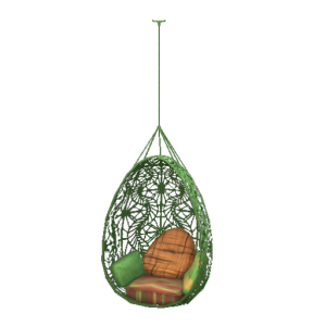 Wonderfully woven hanging chair store the sims 3 - Fauteuil oeuf suspendu ikea ...