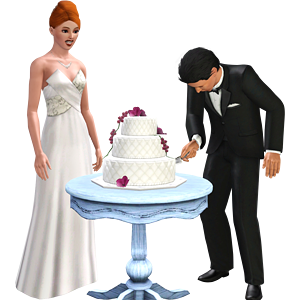 Sims Wedding How To Serve The Cake
