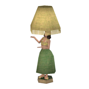 Hula Dancer Lamp