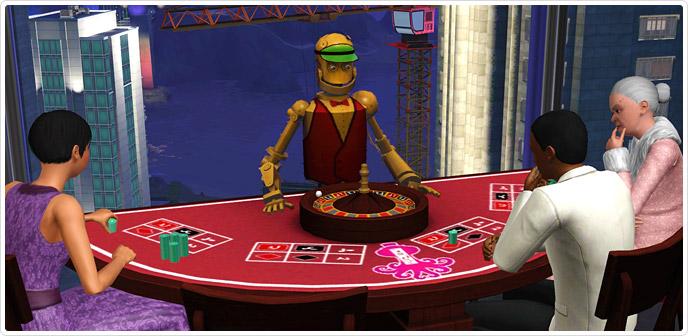 Sims 3 gambling skill