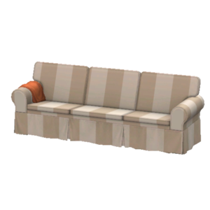 Comfy couch with slipcover store the sims 3 for Transparent sofa cover