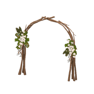 Woodsy Wedding Arch Store The Sims 3