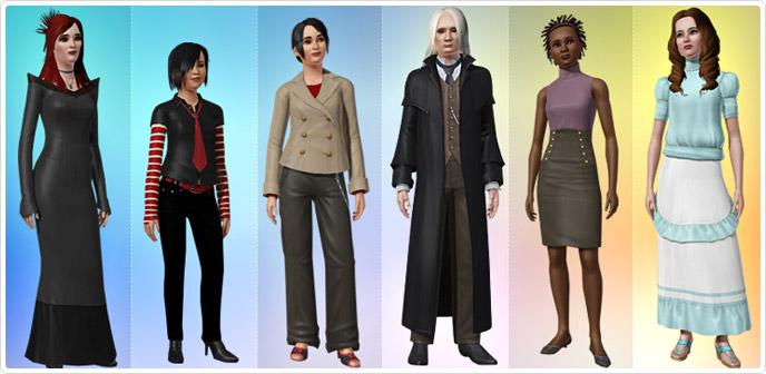 Modne Ubrania I Fryzury Store The Sims 3