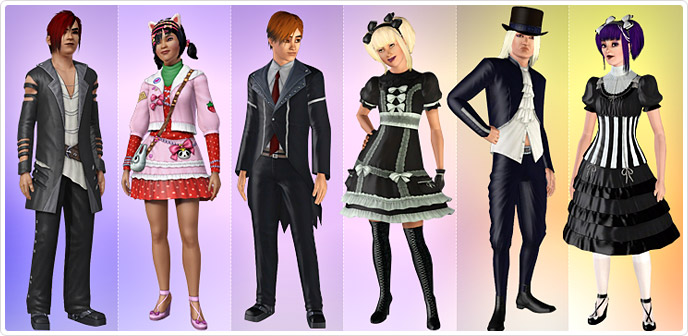 Street Couture - Store - The Sims™ 3
