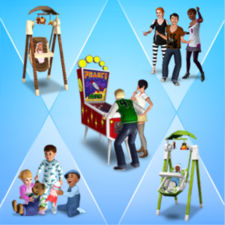 Solace Snugabunny Deluxe Baby Swing Store The Sims 3