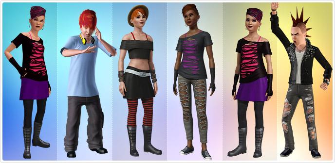 Симс 2 одежда для гота смешарики раскраски все персонажи