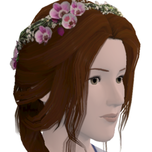 Happily Ever After- True Romance Hairstyle - Store - The Sims™ 3