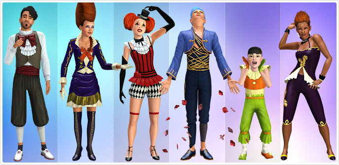 free sims 3 clothes and hair downloads