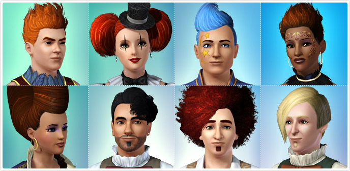 Hair - Store - The Sims™ 3