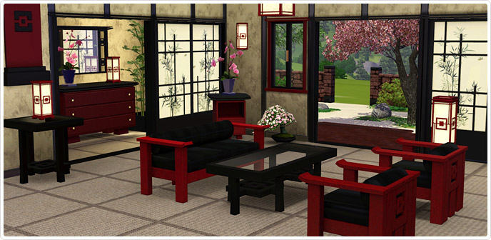 Asian Fusion Store The Sims 3