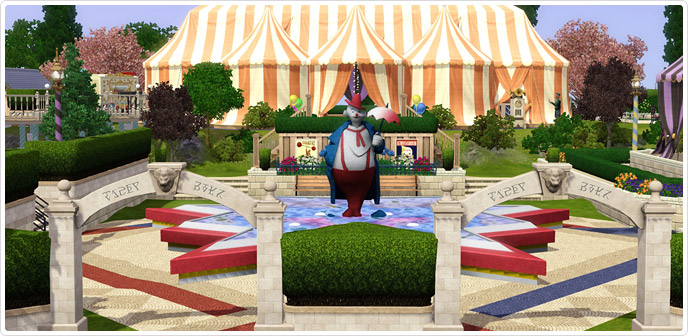World of Wonder Carousel Collection - Store - The Sims™ 3