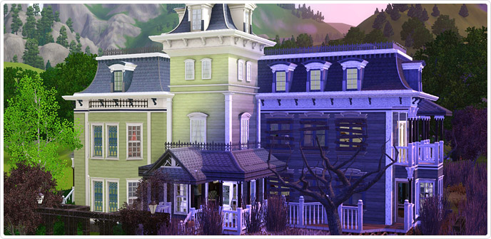 The Now & Then Century Manor - Store - The Sims™ 3