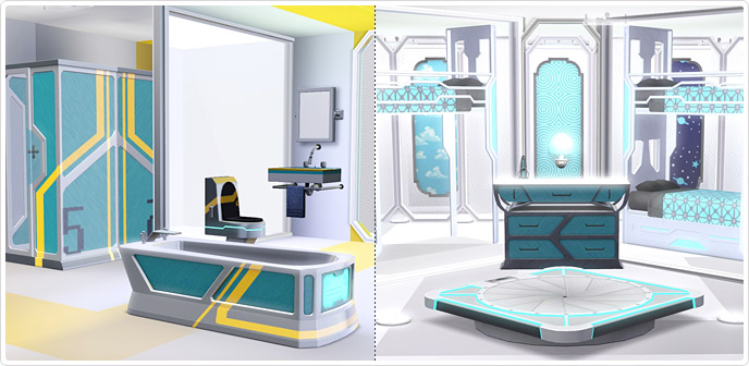 The final frontier set store the sims 3