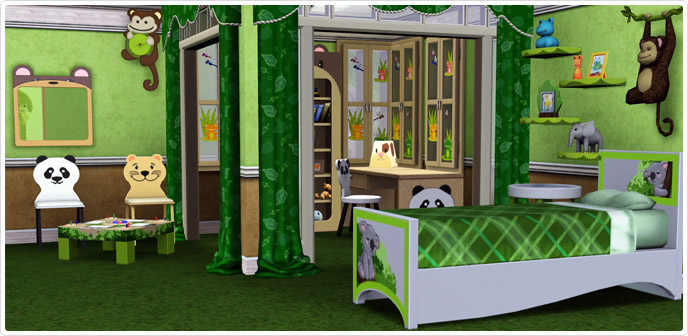 Forest Bedroom Store The Sims 3