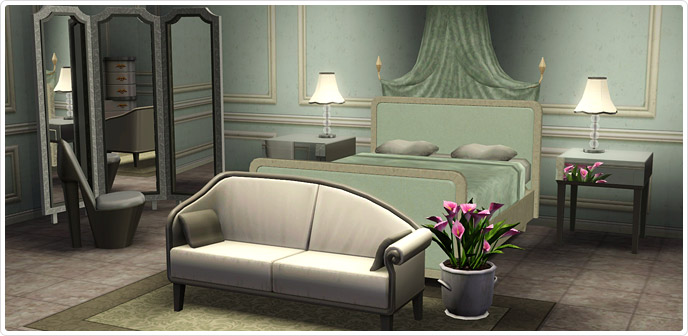 Glitter And Glam Bedroom Store The Sims 3