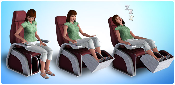 Sharper Sim Foot Massage Chair