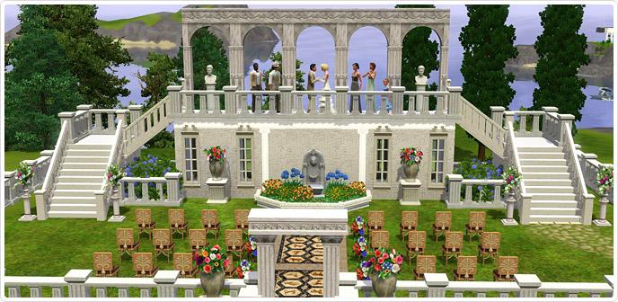 Building Your Own Venue Sims