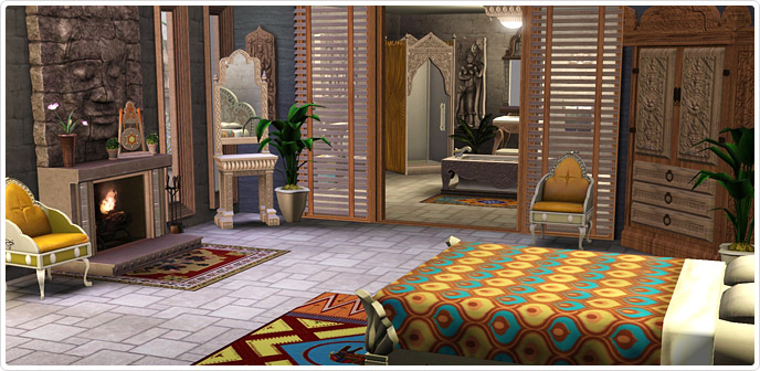 Kingdom of cambodia bedroom and bathroom collection store the sims 3