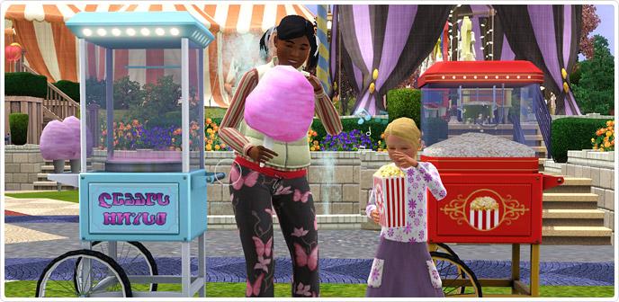 World Of Wonder Popcorn Machine And Cotton Candy Maker