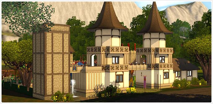The Duke of Bows Renaissance Faire - Store - The Sims™ 3